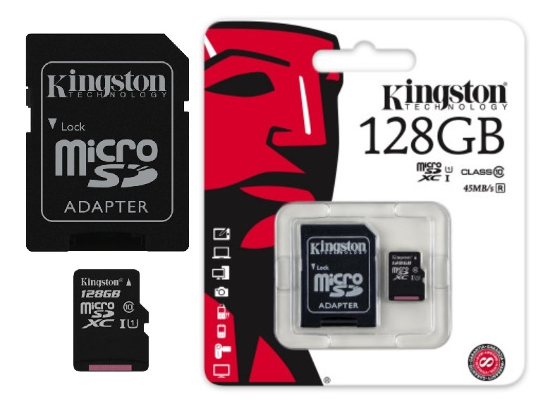 Original Speicherkarte Kingston Micro SD 4-128 GB Für ZTE ZMAX PRO